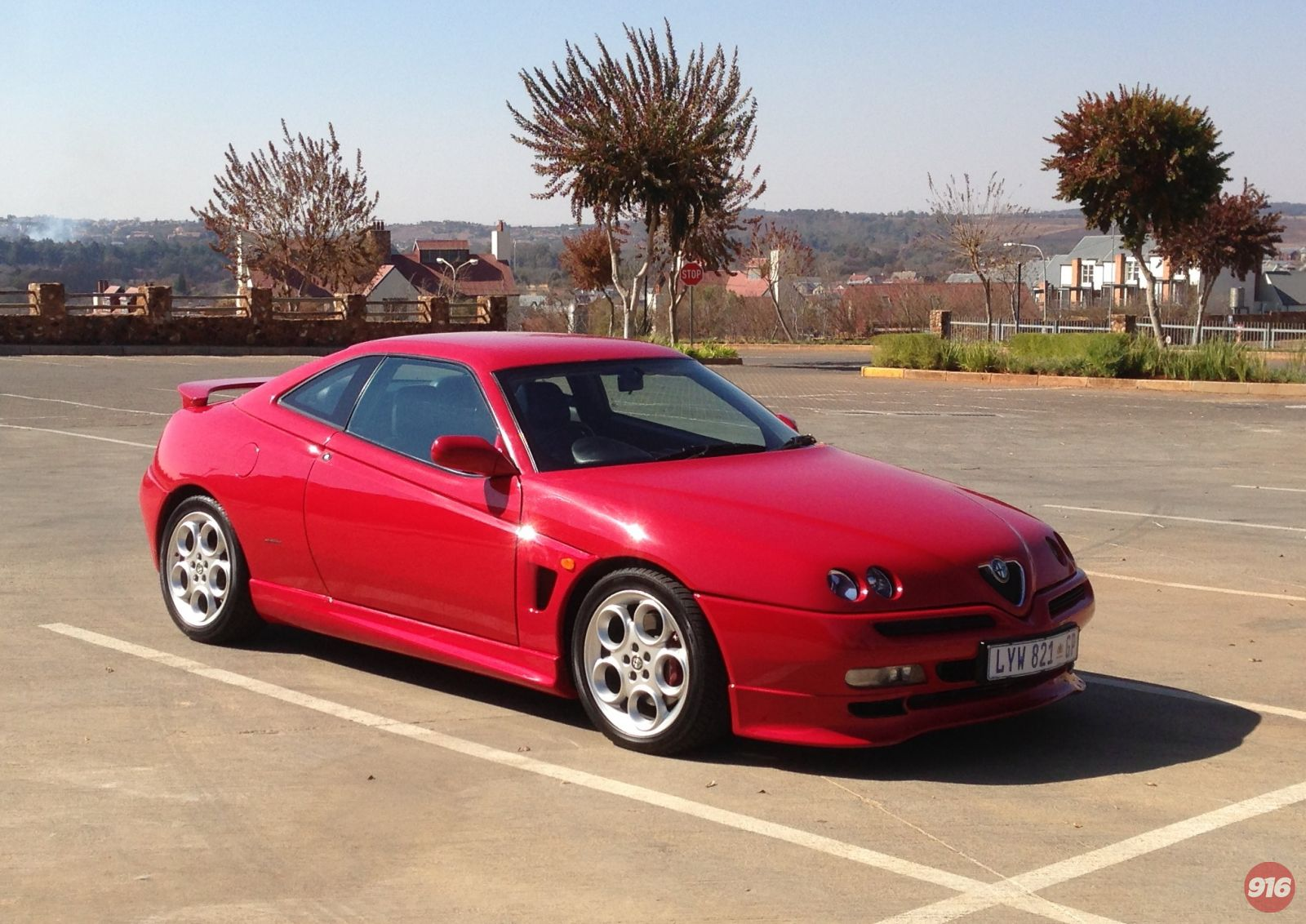 My 916 GTV Cup look alike front