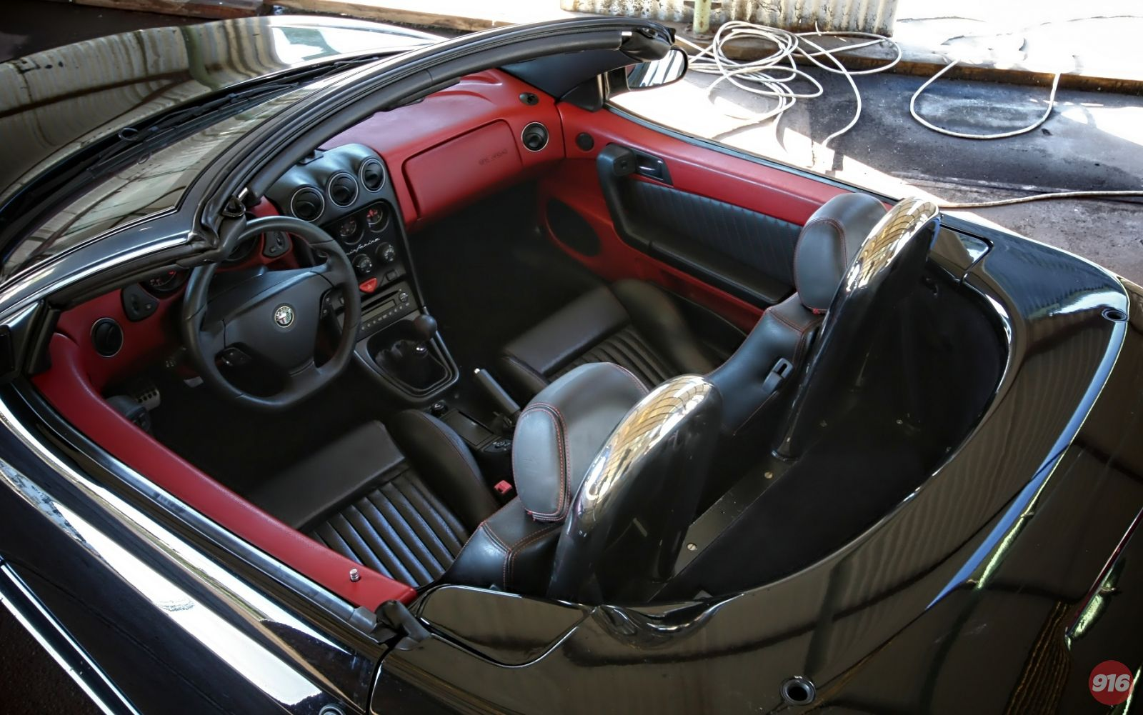 Alfa Spider Cup Red Style Sportivo