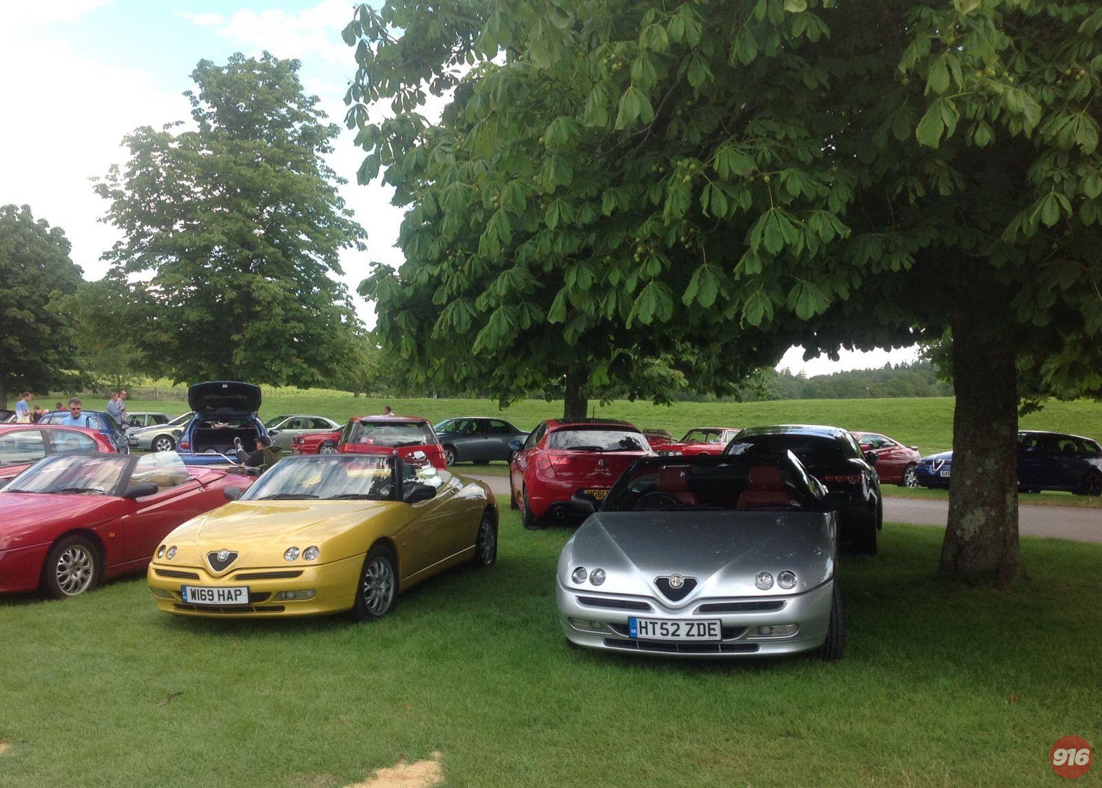 Simply Alfa Romeo Day 29th June 2014, Beaulieu National Motor Museum.