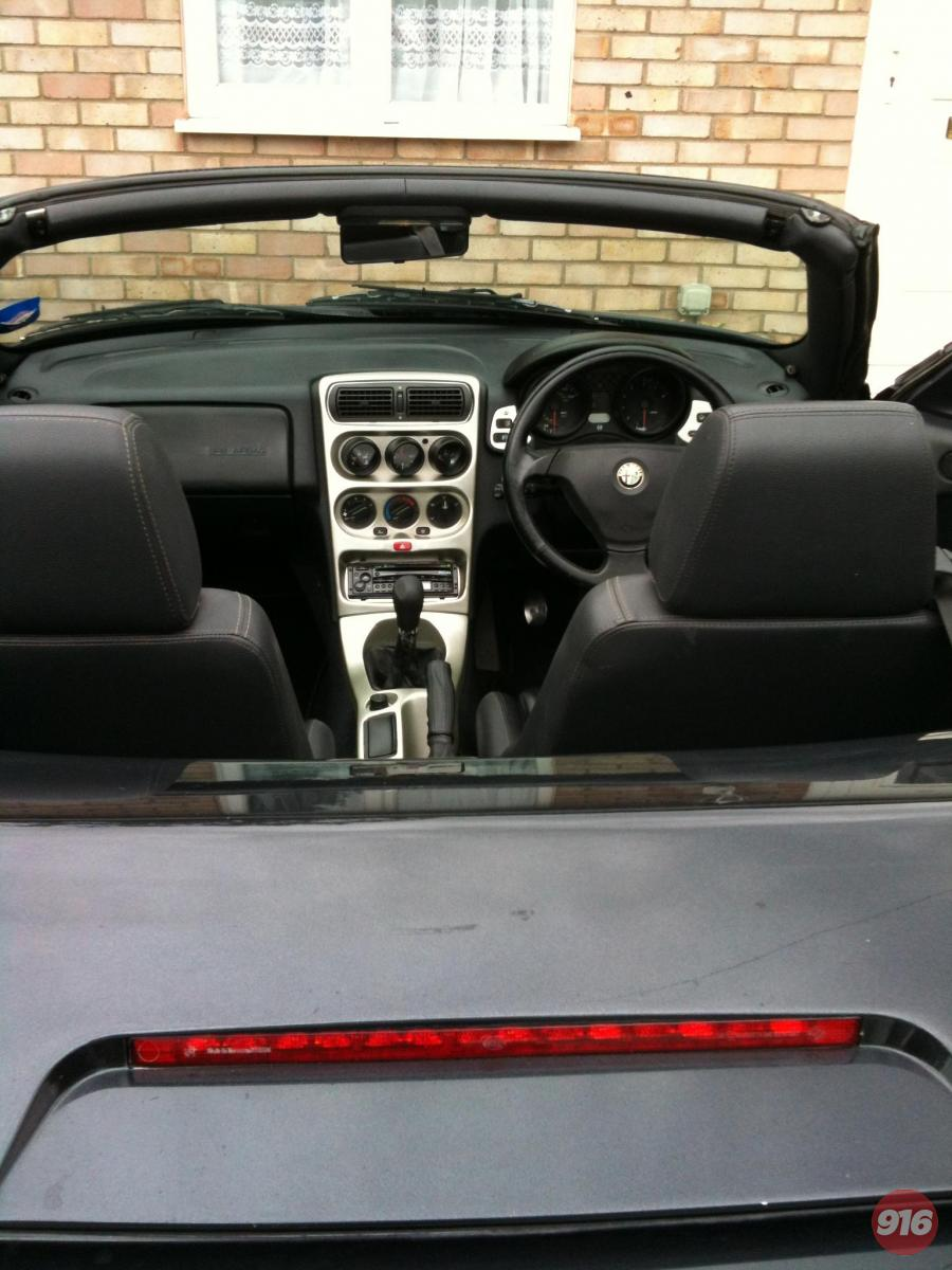 Another view of painted centre console
