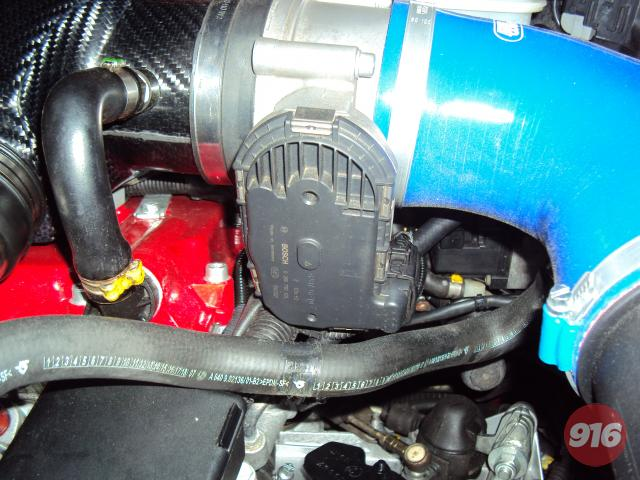 Throttlebody F430 / Carbon plenum