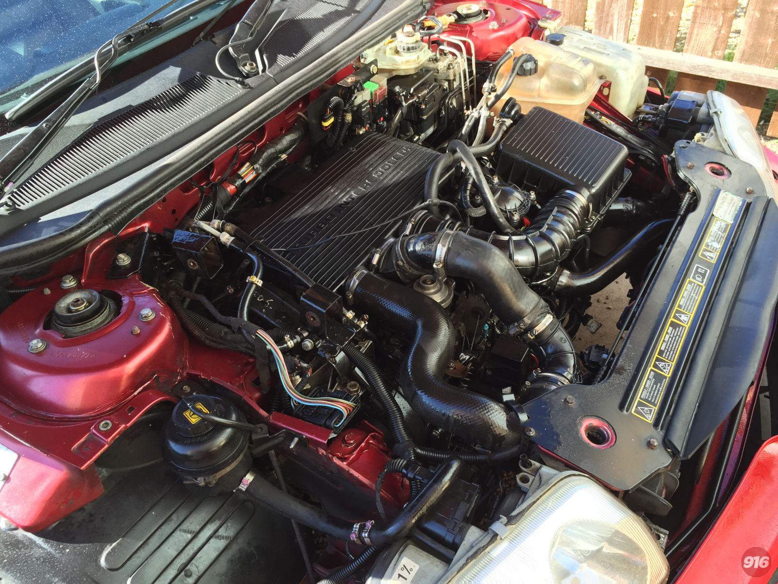 Peugeot 306 Turbo Diesel engine